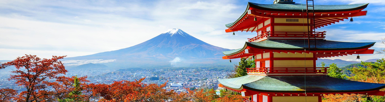 Туры в Японию на гору Фудзияма