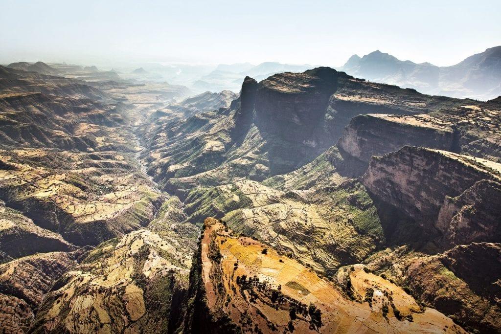 Горный и пеший туризм в Эфиопии