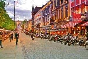 Автобусный тур в Осло из Киева без ночных переездов