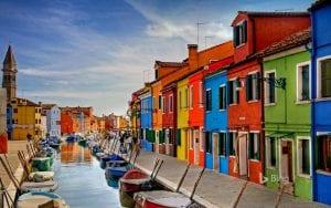 Автобусный тур в Италию, остров Бурано
