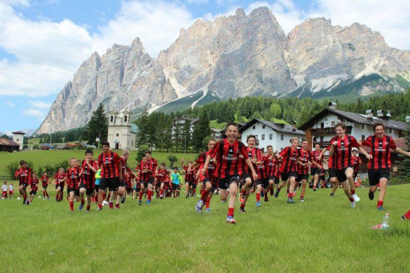 Футбольный лагерь AC Milan Junior