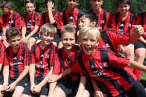 Milan Junior Camp. Футбольный лагерь + английский. Туроператор Just Go!