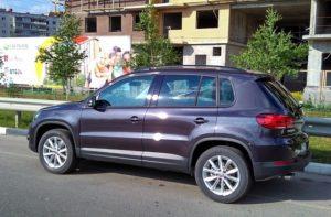 VW Tiguan Rentcar Kiev Аренда авто Киев