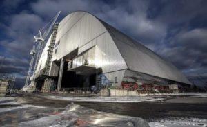 Посещение Чернобыльской АЭС. Новый саркофаг