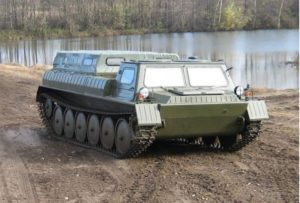 ARMOURED MILITARY OFF-ROADER ГТ-МУ 1985