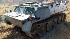 ARMOURED MILITARY OFF-ROADER ГТ-МУ 1985 year