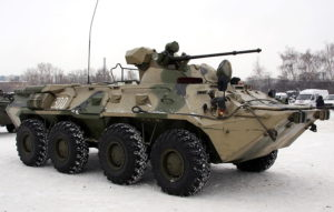 Милитари туры на БТР 80