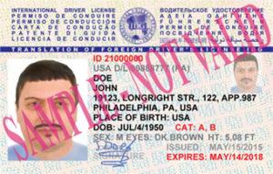 Международное водительское удостоверение получить в Киеве.