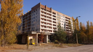 One-day tour to Chernobyl exclusion zone and Prypiat town.