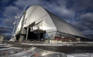 Private tour insidethe Chernobyl nuclear power plant.