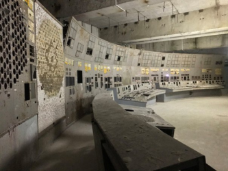 Tours inside the Chernobyl nuclear power plant.