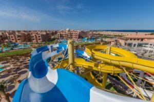 Отели с аквапарками в Хургаде. Albatros Aqua Park Resort