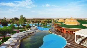 Отели с аквапарком в Египте. Jungle Aqua Park