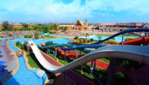 Отели с аквапарком в Хургаде. Jungle Aqua Park