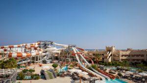 Отели с авквапарками в Египте. Coral Sea WaterWorld
