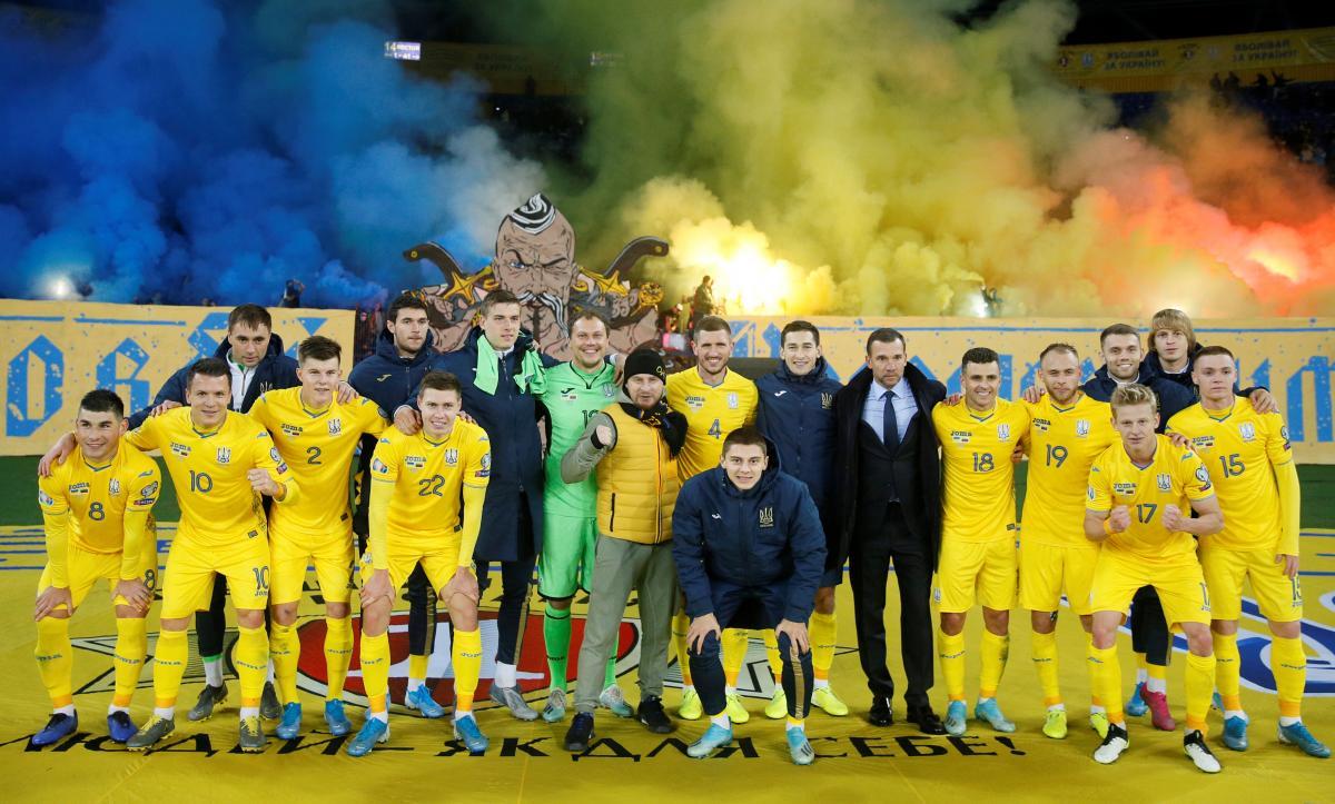 Сборная Украины по футболу в Евро-2020. Авиабилеты на матчи Евро-2020.