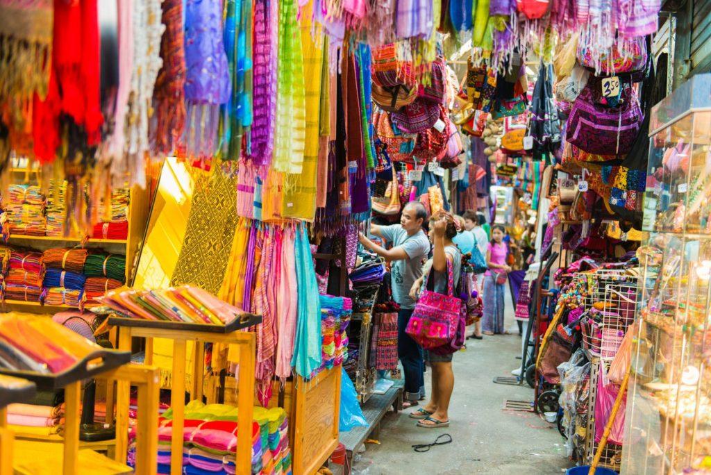 Воскресный рынок Чатучак (Chatuchak Weekend Market)
