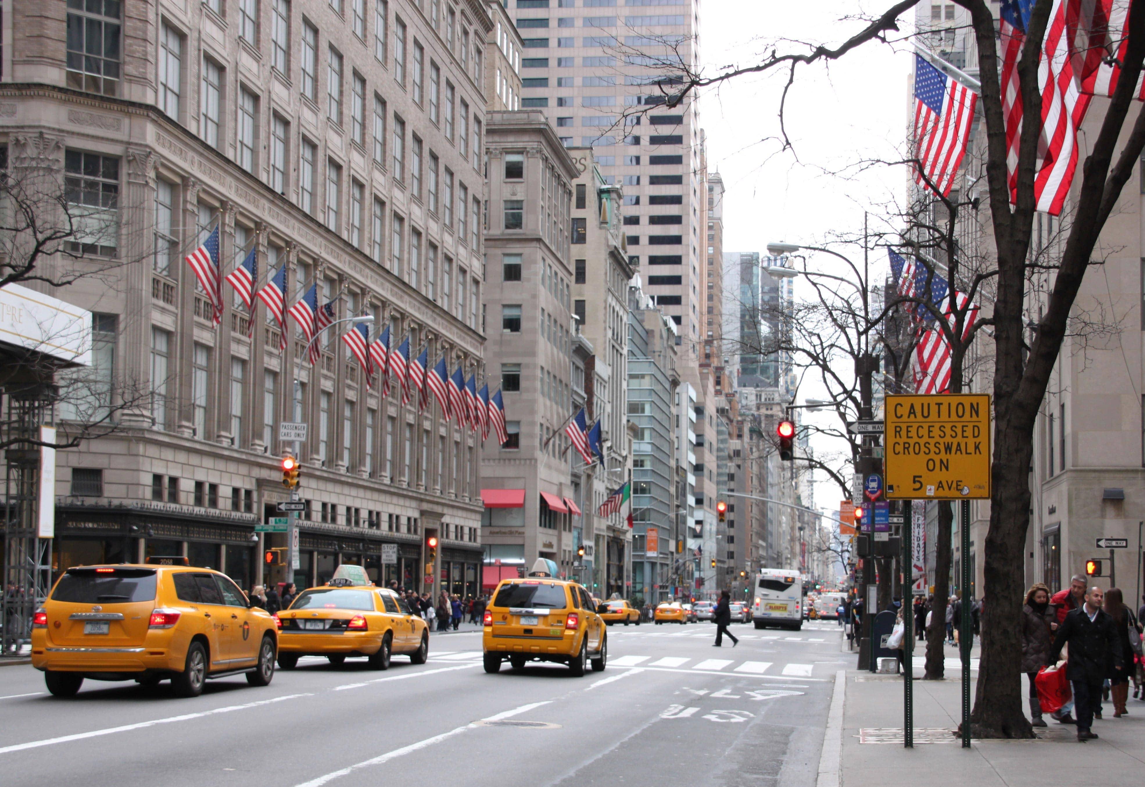 Улица Пятая Авеню (Fifth Avenue)