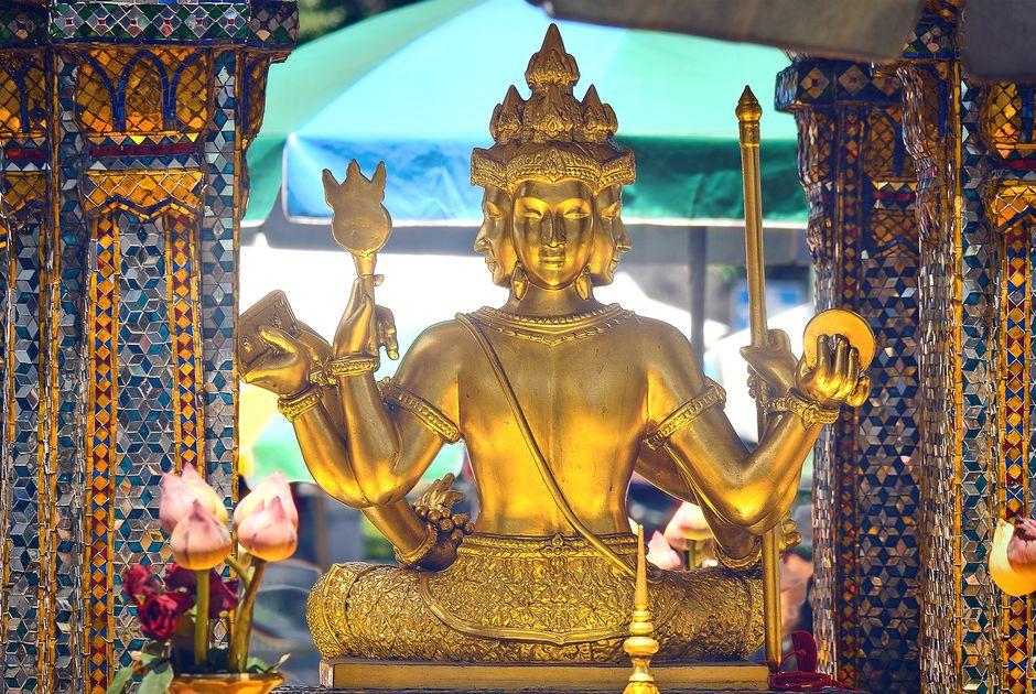 Алтарь Сан Пхра Пхром (San Phra Phrom)