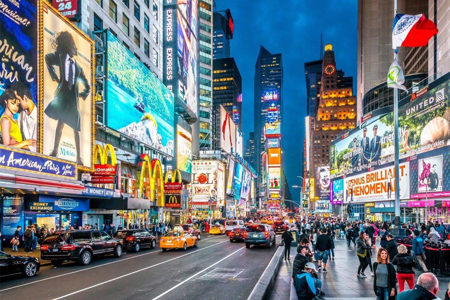 Площадь Таймс-сквер (Times Square)