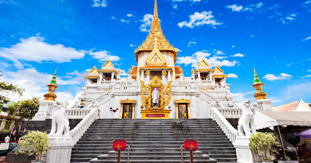 Храм Ват Трамит (Wat Tramit)