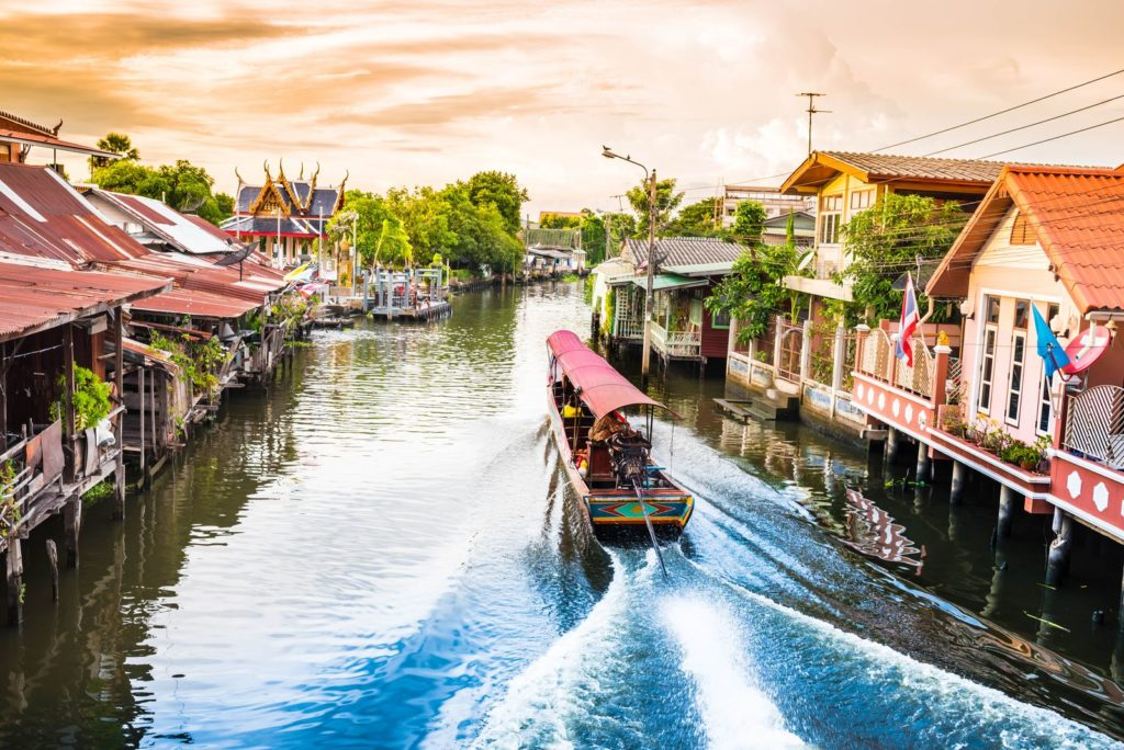 Канал Бангкок Яй (Khlong Bangkok Yai)
