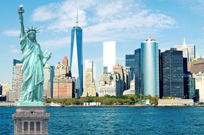 Статуя свободы, Нью Йорк